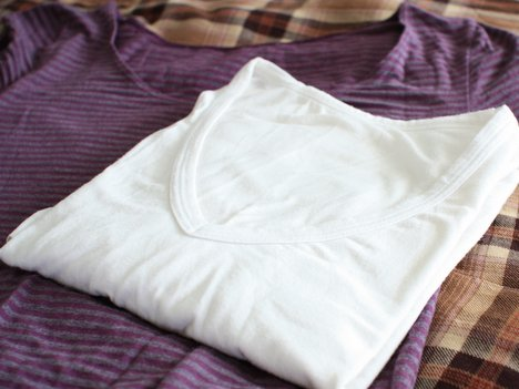 ベルメゾン「ホットコット」は温か発熱インナーなのに綿混。今年もお世話になります。の一枚目の画像