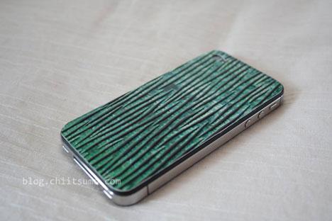 クアトロガッツ iPhoneレザーカバー