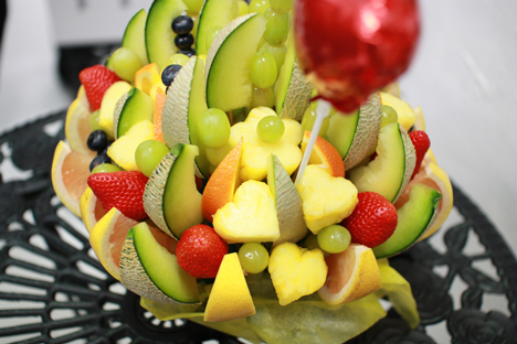 フルーツアレンジメントという果物のブーケが喜ばれる理由の一枚目の画像