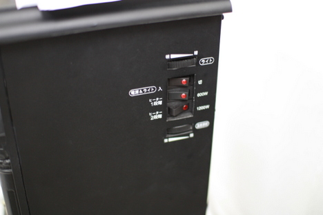 EUPAの暖炉型ファンヒーター