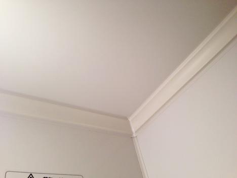 バイオお風呂のカビきれいを設置している天井の写真
