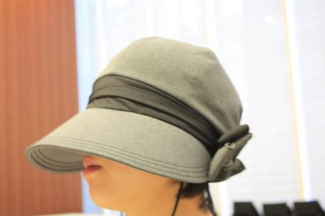 ベルメゾンの日焼け対策帽子