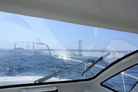 爽快!小型ボートでプロ操船の和歌山港~南淡・鳴門クルーズの一枚目の画像