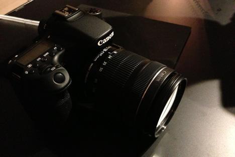 キヤノン EOS 70Dはkissの次に選ぶデジタル一眼レフカメラの参考画像