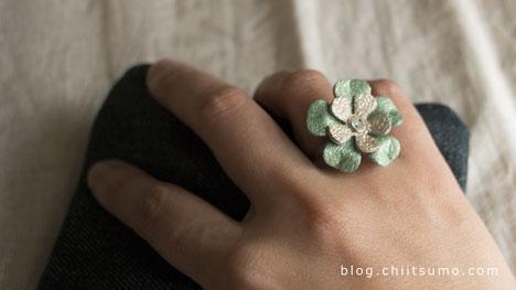 カラフルレザーの指輪はっけん♪芦屋 マーティさんの出展@阪神百貨店梅田店は12月10日まで。の参考画像