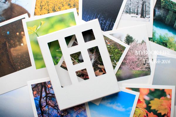 撮りためた写真をスマホからMYBOOK LIFEでフォトカードにするの参考画像