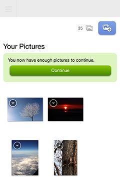 MYBOOK LIFEのスマホ画面