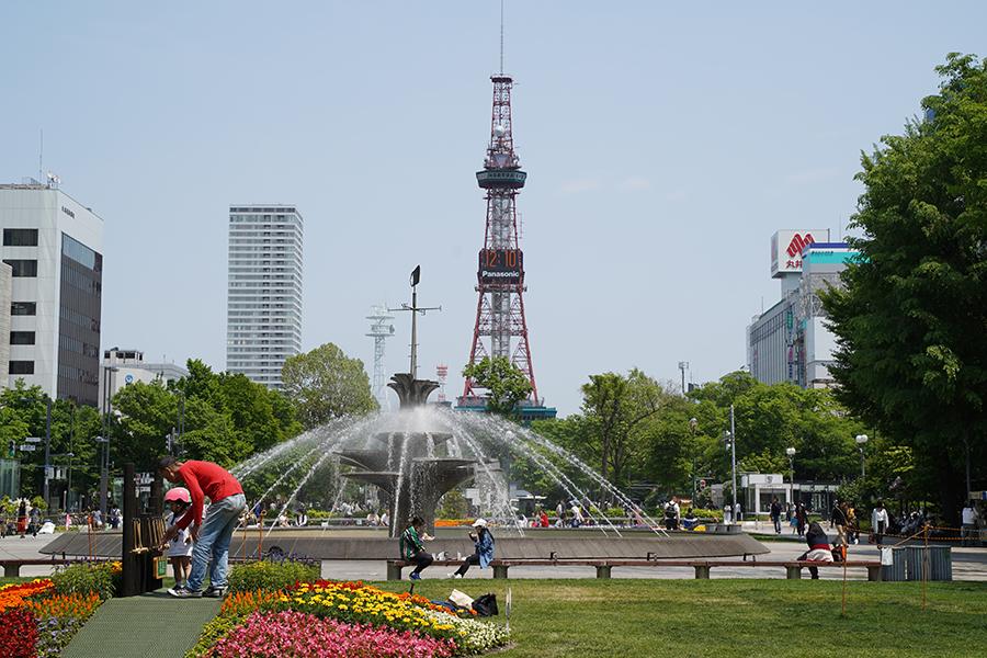 札幌アフィリエイト&SEOセミナー開催日の札幌大通公園
